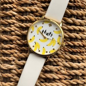 "Kate Spade Metro ""That's Bananas"" Watch"